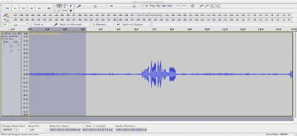 Prepare Sound Files in Audacity – Macaulay Library